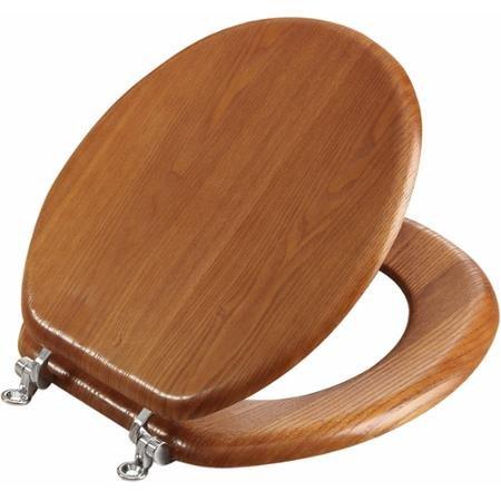Oak Toilet Seat - 8