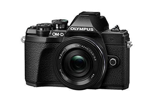 Olympus OM-D E-M10 Mark III Mirrorless Micro Four Thirds Digital Camera with 14-42mm EZ Lens & 16GB SDHC Card (Black… 2
