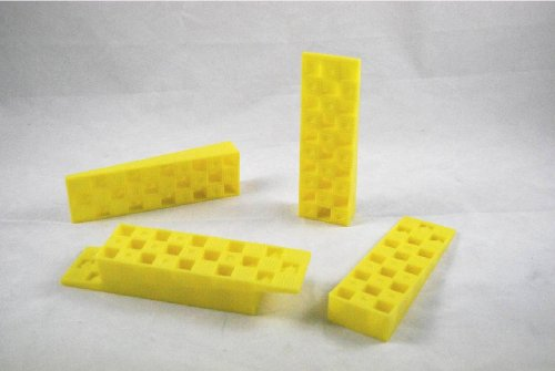 Yellow Plastic Interlocking Joist & Beam Wedges (H) 25mm ...