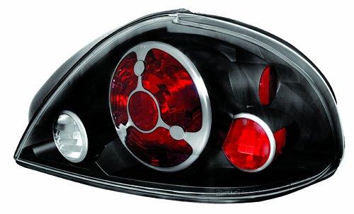 IPCW CWT-CE326CB Crystal Eyes Bermuda Black Tail Lamp - Pair