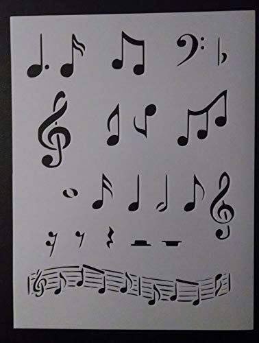 (OutletBestSelling Reusable Sturdy Sheet Music Musical Notes Note 8.5