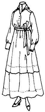 1915 Ladies' Dress