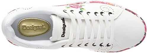 Cosmic Shoes Desigual da Microrapport Ginnastica Basse Donna Scarpe Blanco Bianco 1000 q4dxw5d