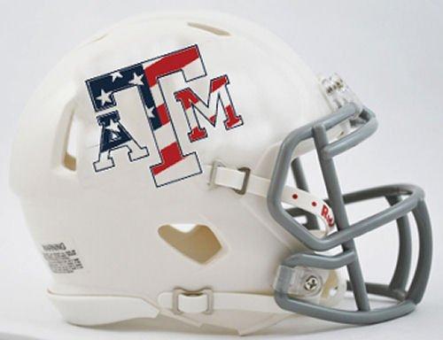 Texas A&M Aggies Riddell Speed Mini Replica Stars & Stripes Football Helmet