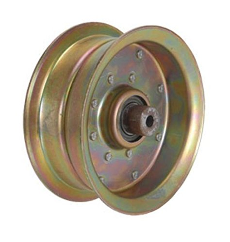 B1SC28 New Mower Flat Idler Pulley w/Flanges for Scag Tiger Cub Wildcat SWZU ()