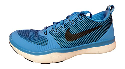 Nike Free Train Versatilità Mens Running Trainers 833258 Scarpe Da Ginnastica (us 9.5, Blu Glow Black White 401)