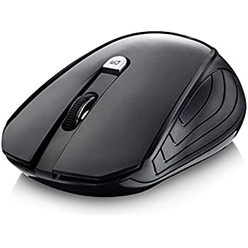 1f6d63e4591 Splaks Wireless Mouse, 2.4Ghz Wireless Mice 4 Buttons Portable Office Mouse  3 Adjustable DPI Left Hand Mouse with Nano USB Receiver for Computer,  Laptop, ...