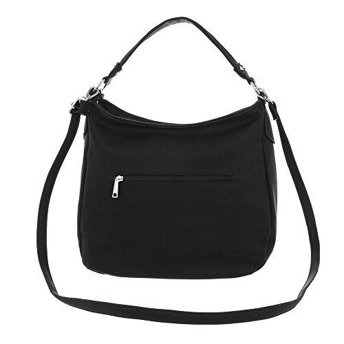 porter l'épaule Design Ital à femme pour à Sac Noir xPxzq4nX