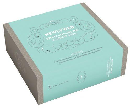 Newlywed Deluxe Keepsake Memory Book product image