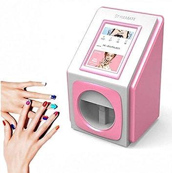 Impresoras de uñas en 3D Máquina de pintura portátil Transferencia ...