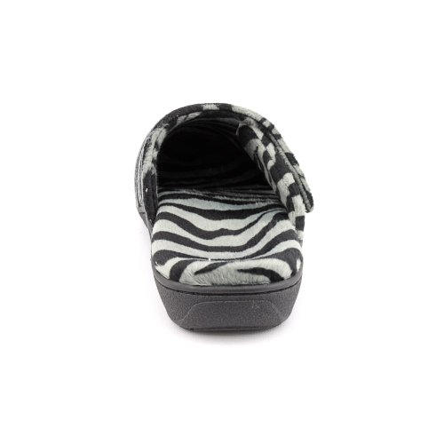 Slipper Grey Women's M dark Uk 9 Gemma 11 us Size Orthaheel Zebra ZAxUnAI