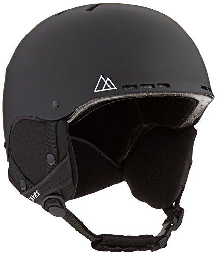 Traverse Sports Vigilis Convertible Ski & Snowboard/Bike & Helmet, Matte Obsidian, Small/Medium (54-58cm)