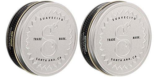 Suavecito Premium Blends Pomade Bundle - Matte and...