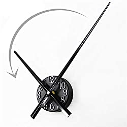 Retro Wall Clocks for Living Room Fashion Home Back in Time True 3D Stereo DIY Metallic Wall Clock Drop Shipping