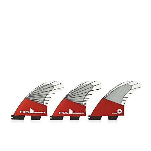 - FCS II Accelerator Performance Core Thruster Fin Large Red