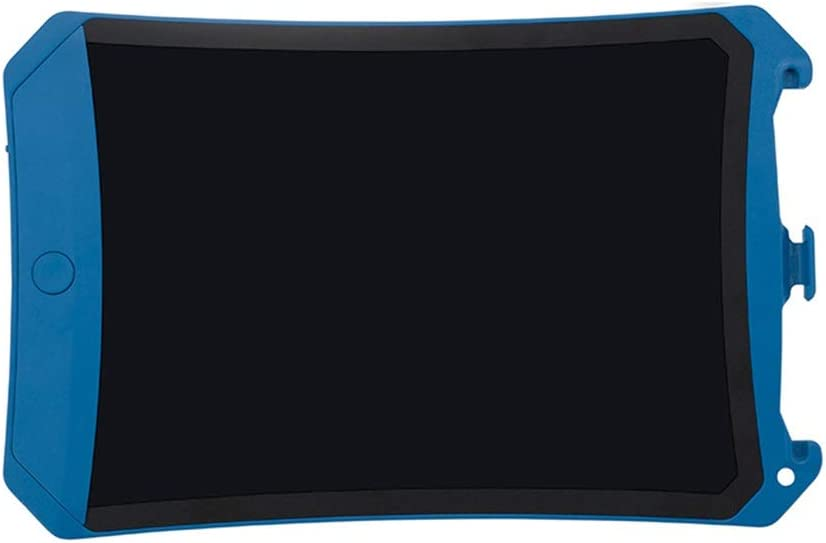 LCD Electronic Writing Board,10 Inch Handwriting Board Color Childrens Graffiti Painting Board Light Energy Blackboard Drawing Color : Blue
