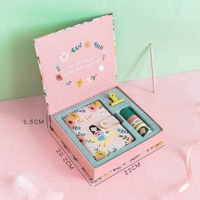 ShAwng A6 Caja Cuaderno Kawaii Agenda Impreso Semanal Planificador ...