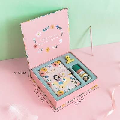 ShAwng A6 Caja Cuaderno Kawaii Agenda Impreso Semanal ...