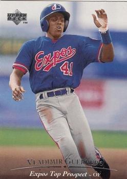 1995 Upper Deck Minors #127 Vladimir Guerrero - Montreal Expos - Rookie / Prospect Baseball Cards ()