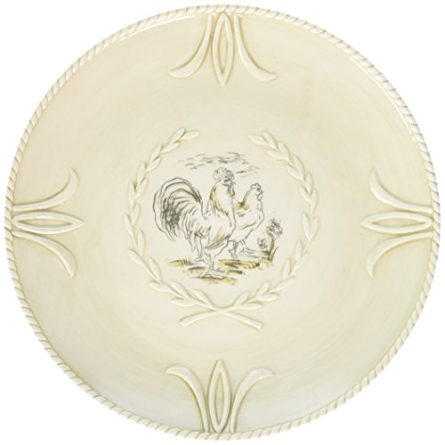 - Fitz and Floyd Carrington Collection Accent Salad Plates (Set of 4), Multicolor