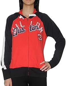 Womens AUSTIN DILLON #3 Athletic Zip-Up Hoodie (Vintage Look) M Multicolor