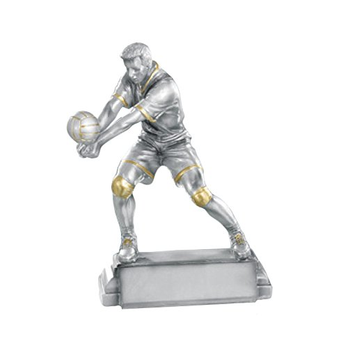 Talla Standard Trofeo DEPICE Pokal Volleyball Color Plata