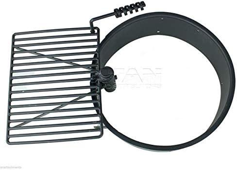 TITAN GREAT OUTDOORS 24″ Steel Fire Ring