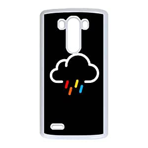 LG G3 Cell Phone Case White Lovely Rainy Days IIW Cell Phone Case Clear Plastic