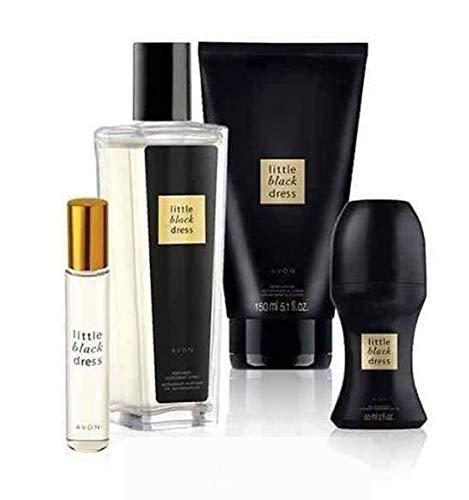 Amazon Avon Little Black Dress Perfume For Her 4 Piece Gift