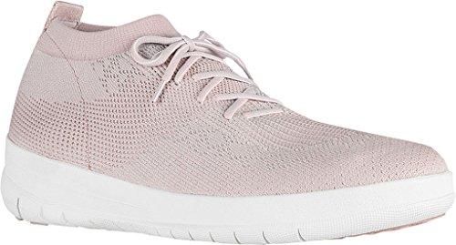 Fitflop Uberknit Slip On High Top Damen Stiefel Pink