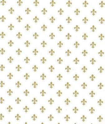 Pattern Tissue Paper - Fleur-De-Lis Tissue Paper, 20 x 30