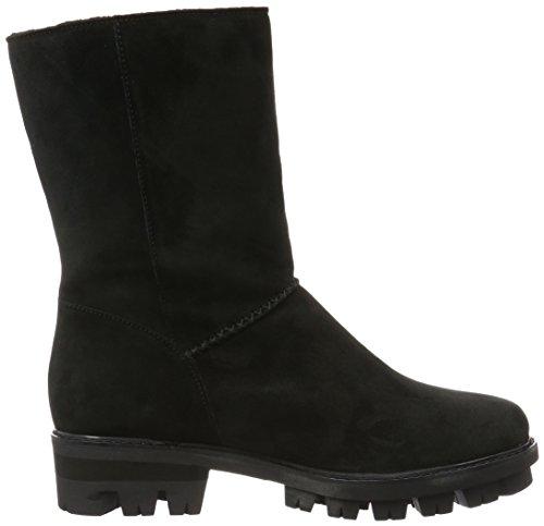 Gabor Schoenen 53714 Vrouwen Half Lat Slip Laarzen Zwart (zwarte 97)
