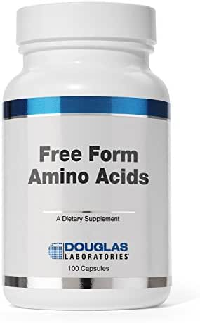 Douglas Laboratories - Free Form Amino Capsules - Balanced Mixture of Amino Acids to Support Overall Health* - 100 Capsules