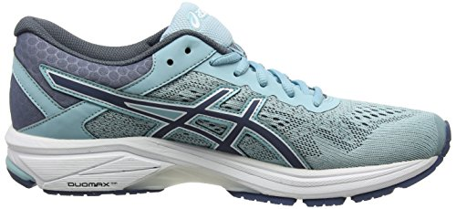 GT Shoes Smoke Blue T7A9N 1000 White Women's Porcelain Running 6 Blue Asics HxCBXdC
