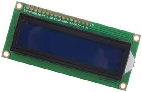 DC 5V HD44780 1602 LCD Display Module 16x2 Character LCM Blue Blacklight CA