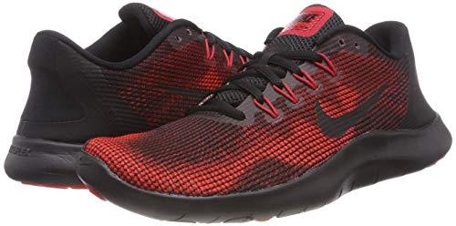 Flex Da Scarpe team black black Red Basse Red Nike 2018 Rn Ginnastica university Multicolore 008 Uomo dqvztIO