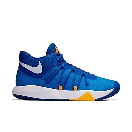 NIKE KD Trey 5 V Mens Fashion-Sneakers 897638-400_9.5 - Royal Blue/White-University Gold