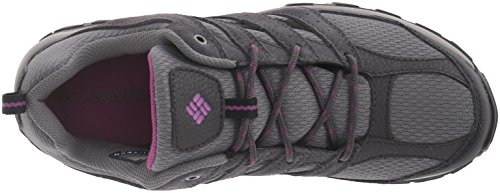 Women's Butte Plains Hiking Violet Waterproof Intense Shoes Columbia Quarry ZqpwdgE