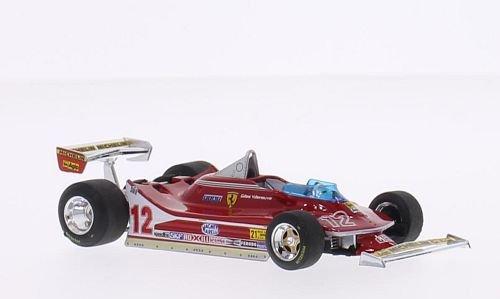 Ferrari 312 T4, No.12, scuderia Ferrari, formula 1, GP USA West, 1979, Model Car, Ready-made, Brumm - Usa Models Ferrari