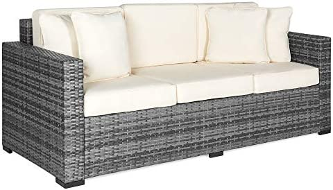 Best Choice Products 3-Seat Outdoor Wicker Patio Sofa w/Removable Cushion