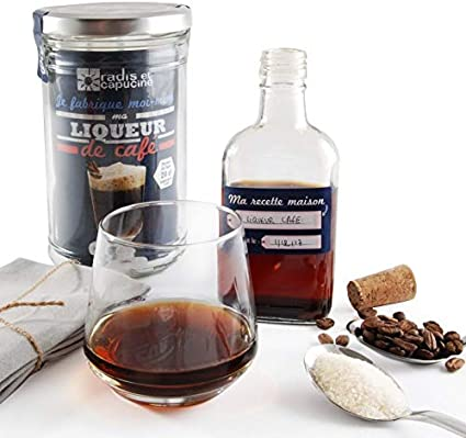 Licor creación casa AU café con especias Bio: Amazon.es: Hogar