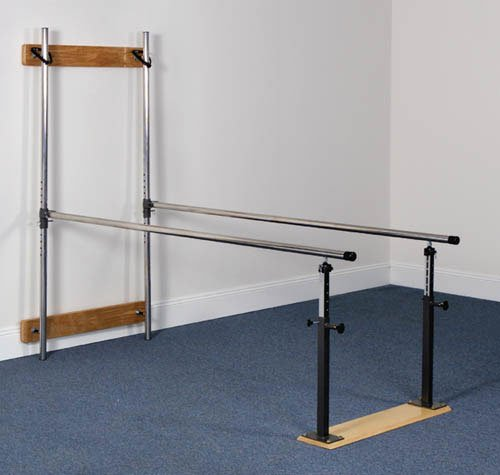 Clinton Industries Wall Mounted Folding Parallel Bars, 1 Pound