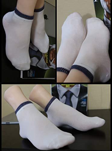 FidgetFidget A Pair Realistic Silicone Male Feet Shoes Displays Model Mannequin Size 43 h012 by FidgetFidget (Image #5)