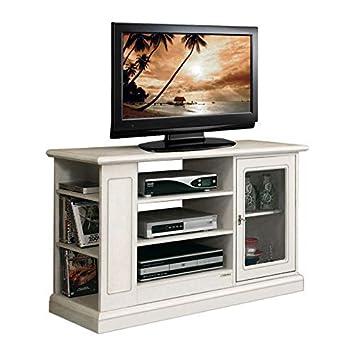 Tv Möbel Mit Glastür In Lackierter Farbe Tv Schrank Aus Holz Für
