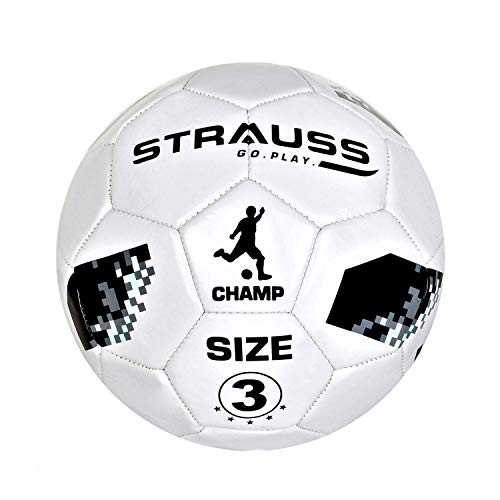 Strauss Champ Football, Size 3,  for Kids