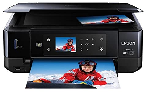 Epson Expression Premium XP-620 Wireless Color Photo Printer with Scanner and Copier (Epson 273 Photo Black Xl)