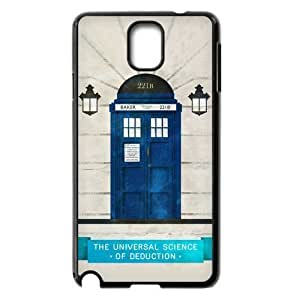 DiyCaseStore Customized Doctor Who and Sherlock Samsung Galaxy Note 3 N9000 Hard Case Cover Protector Gift Idea