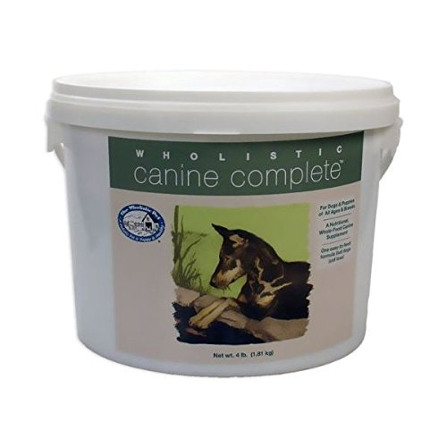 Wholistic Canine Complete (4 lbs Tub) by Wholistic Canine Complete