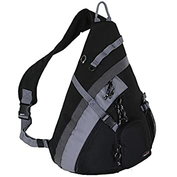 "Amazon.com : HBAG 20"" Sling Backpack Single Strap School Travel ..."
