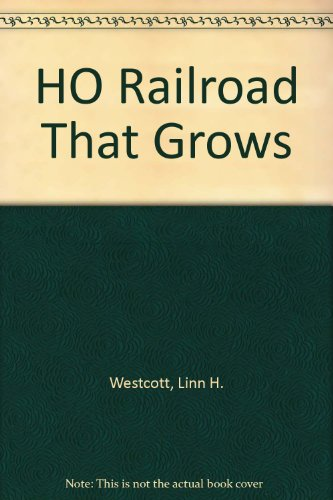 (HO RAILROAD that GROWS: Topics covered include. How Others Grew Their Versions of the GNP, Master Track Plan, How to Build a Train Table, Start with any Train Set, Switches and Scenery, Extra! Earthquake Shakes Railroad, Building Ponds and a Stone Bridge, GNP from the Air, Buidling from Kits, Adding an Upper level Route, Bridge Piers and Tunnel Blasting, Building a Bridge on a Curve, A good Control Panel, Add a Drop-Leaf Yard ETC.ETC.)